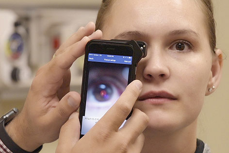 Digital ophthalmascopes are one of the many new digital tools in today's medical bags.