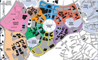 uci main campus map Clinical Skills Center Map Directions Medical Education uci main campus map