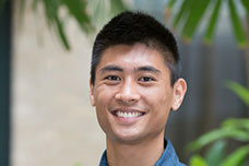 Alvin Chan, a fourth-year medical student at the UC Irvine School of Medicine